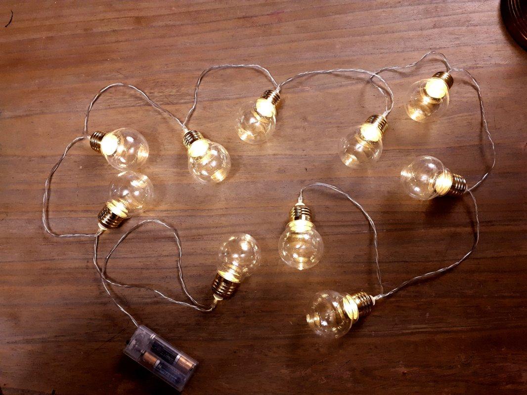 RETRO stila LED spudzīšu virtenes
