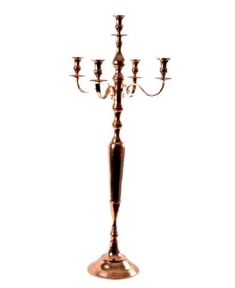 Augstie rose gold (vara) krāsas svečturi